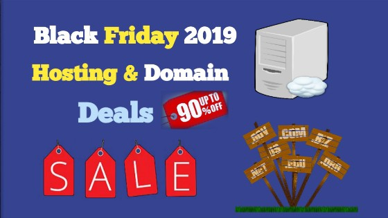 Black Friday and cyber sunday deals and offer 2019