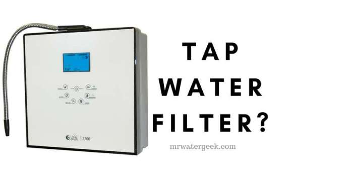Here is Why You MUST ALWAYS Use a Tap Water Filter