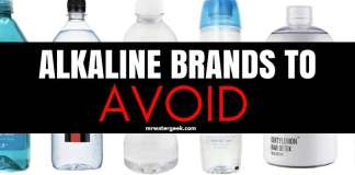 Learn Which Alkaline Water Brands You MUST Always AVOID