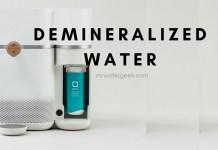 Demineralised Water