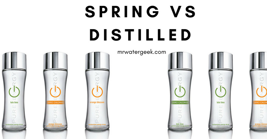 Spring Water vs Distilled Water: Which is the Healthiest