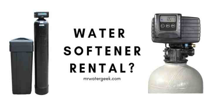 Water Softener Rental: Is It Really Better Then Buying?