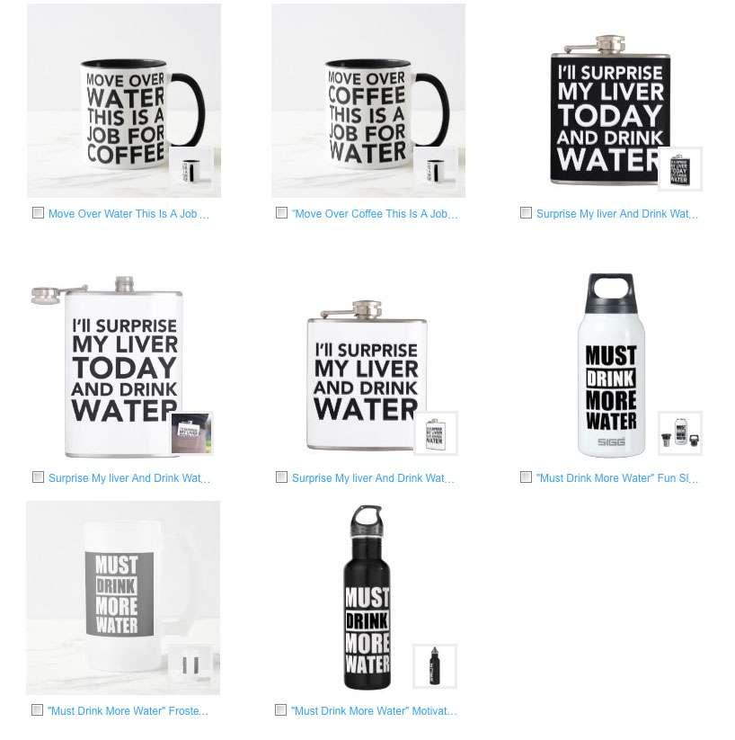 Trending Funny Water Bottle + Funny Mug Designs