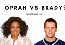 Oprah Winfrey vs Tom Brady: Water Drinking Habits Compared