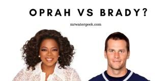 Oprah Winfrey vs Tom Brady: Water Drinking Habits Compared
