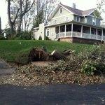 Hurricane Sandy aftermath along Roosevelt Ave., Westwood, NJ (11/5/2012).