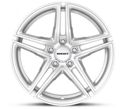 18 Inch Mercedes C-Class (W205) Silver Winter Wheels and Tyres