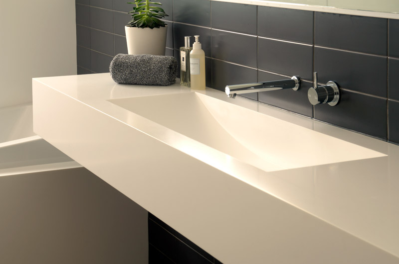 Square Vanity Basins  Mr Worktops