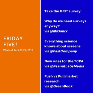 Friday Five!
