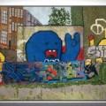 Jacquelyn Royal - Berlin 1 - Graffiti Needlepoint