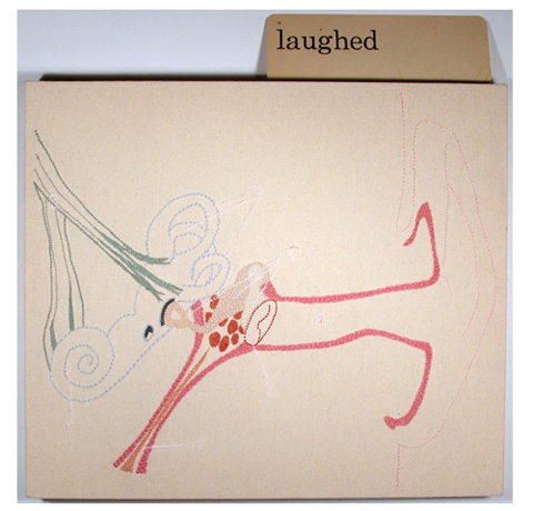 Megan Canning's Laughed (The Sense of Hearing)