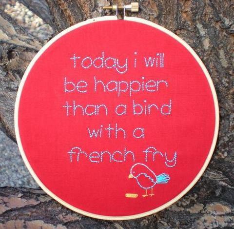 French Fry Bird
