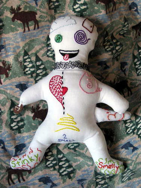 Craftster Pick of the Week – annieeggplant's Ex-Husband VooDoo Doll
