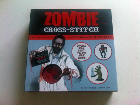 Zombie Cross-Stitch has arisen!