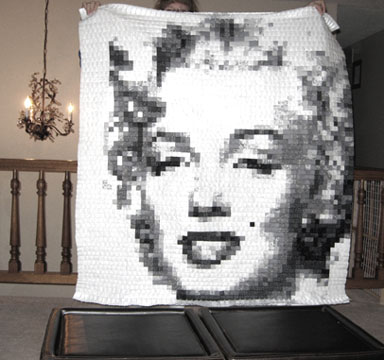 Craftster Pick of the Week – I Sew Cute's Marilyn Quilt