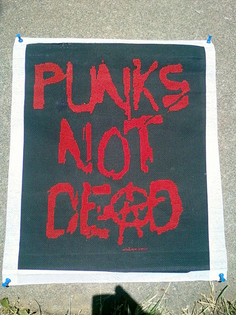 Craftster Pick of the Week – Whatever James's Punk Stitch