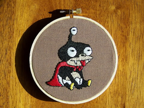 Craftster Pick of the Week – Nibbler by Zhad Squad