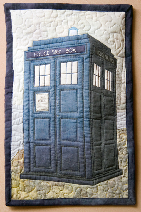 Craftster Pick of the Week – TARDIS Quilt