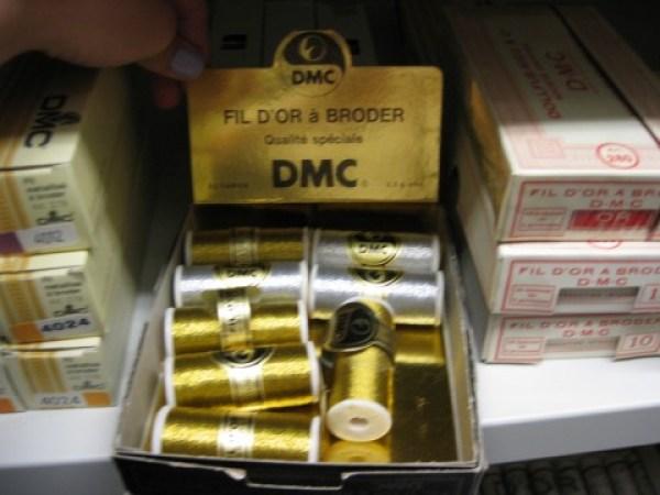DMC Gold Thread