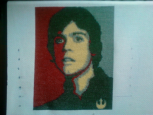 Whatever James - A New Hope - Cross Stitch