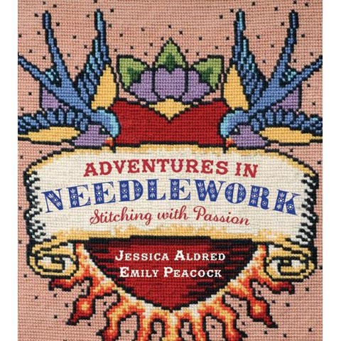 Book Review – Adventures in Needlework… by Jessica Aldred & Emily Peacock