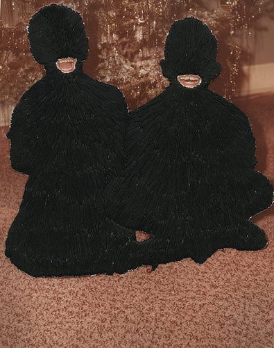 Jessica Wohl - Little Monsters hand embroidery on photographs