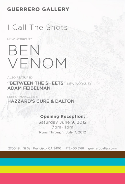 Ben Venom show at Guerrero Gallery