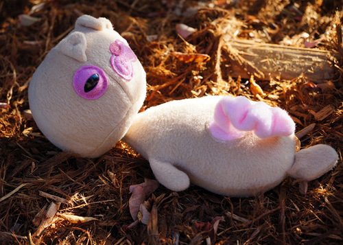 Daniellorama's Newborn Squirrel Plush