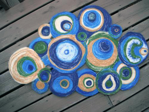 Craftster Pick of the Week – Needle Felted Rug
