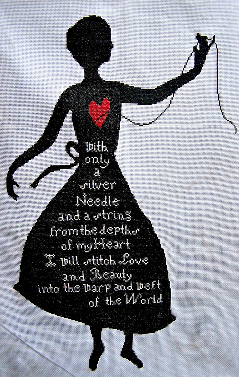 Kittykill's Silhouette Cross Stitch
