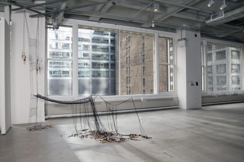 Olivia Valentine - Punto in Aria (Tacoma) - lacework installation