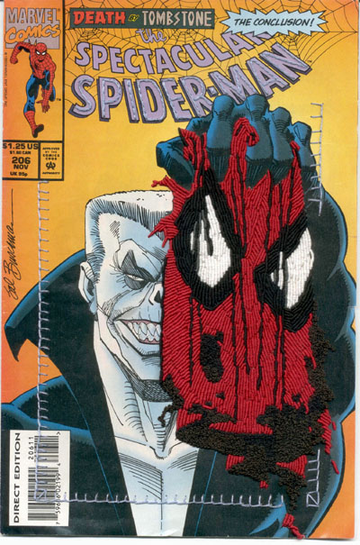Mark Newport - Spiderman 206 mask