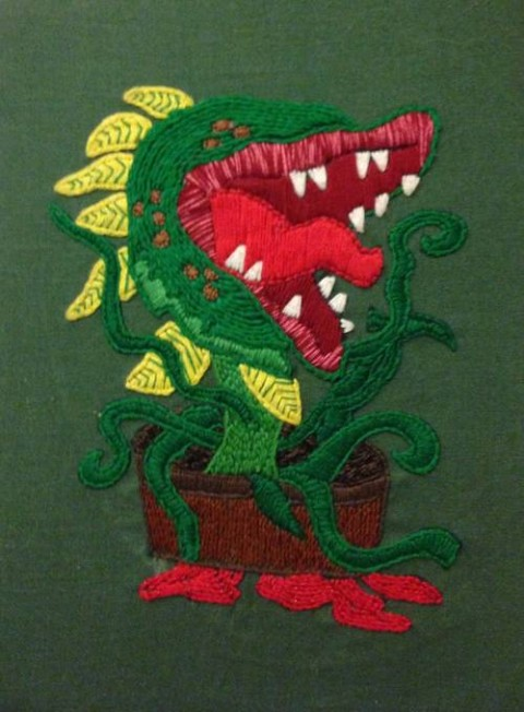 DithMer's Audrey 2 Hand Embroidery