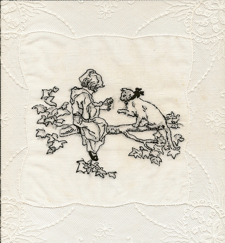 Hand Embroidery by Poesie Grenadine