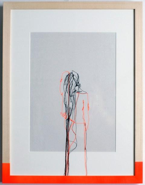 Lauren van der Kolk - embroidery illustration