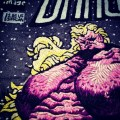 hEisK's hand embroidered Savage Dragon cover detail