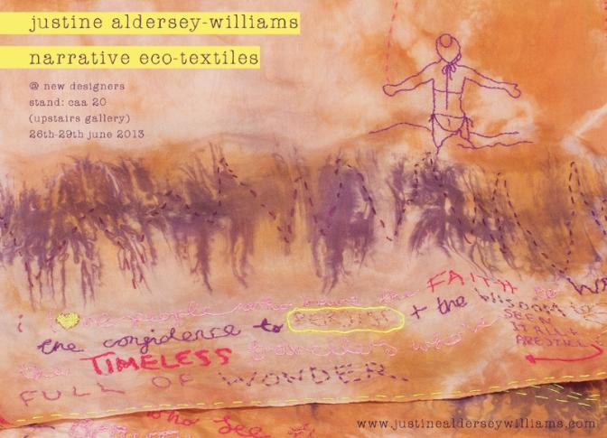 The Cutting (& Stitching) Edge – Justine Aldersey-Williams