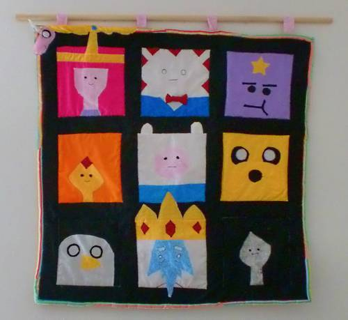 Craftster Pick of the Week – Kurzez_Haar's Adventure Time Quilt!