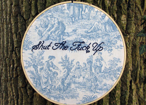 LadyJaneLongStitches - Shut The Fuck Up