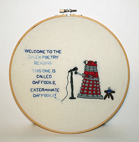 Stitchgasm – Five Doctor Who Hoops!