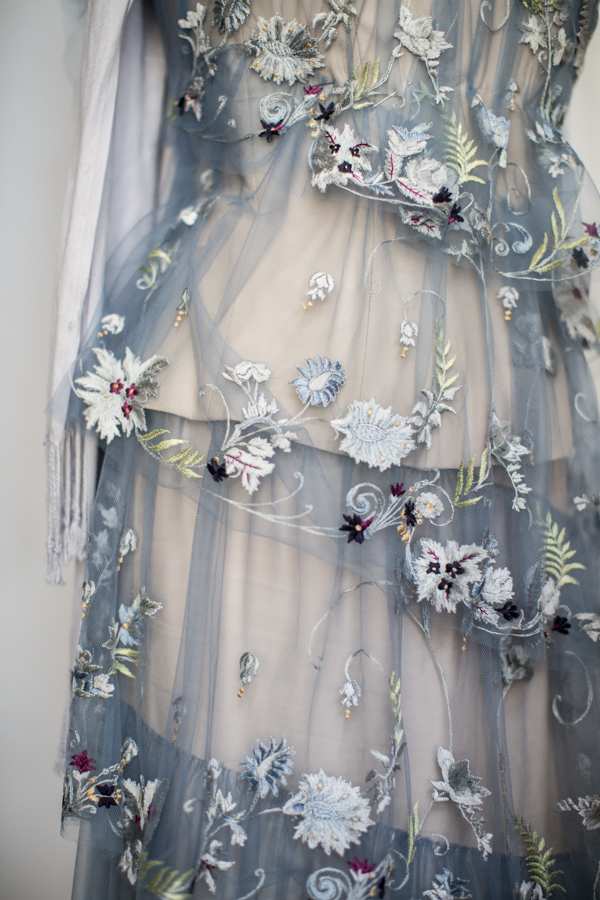 Embroidered dress Photography courtesy of Helen Cathcart Photography www.helencathcart.com