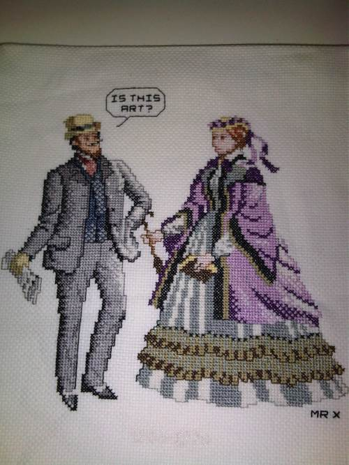 MrXStitch - Recycled Cross Stitch 002 - Cross Stitch