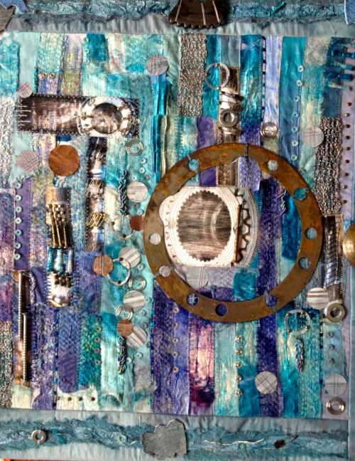 Muriel Campbell - Screw Loose - Mixed Media