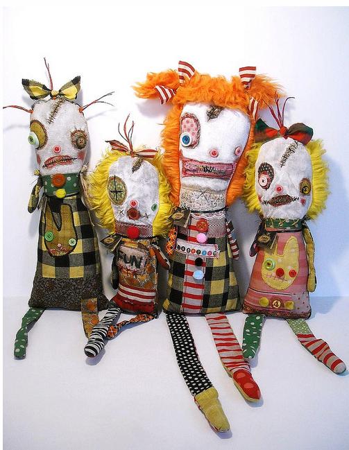 Stitchgasm – Junker Jane's Monster Dolls