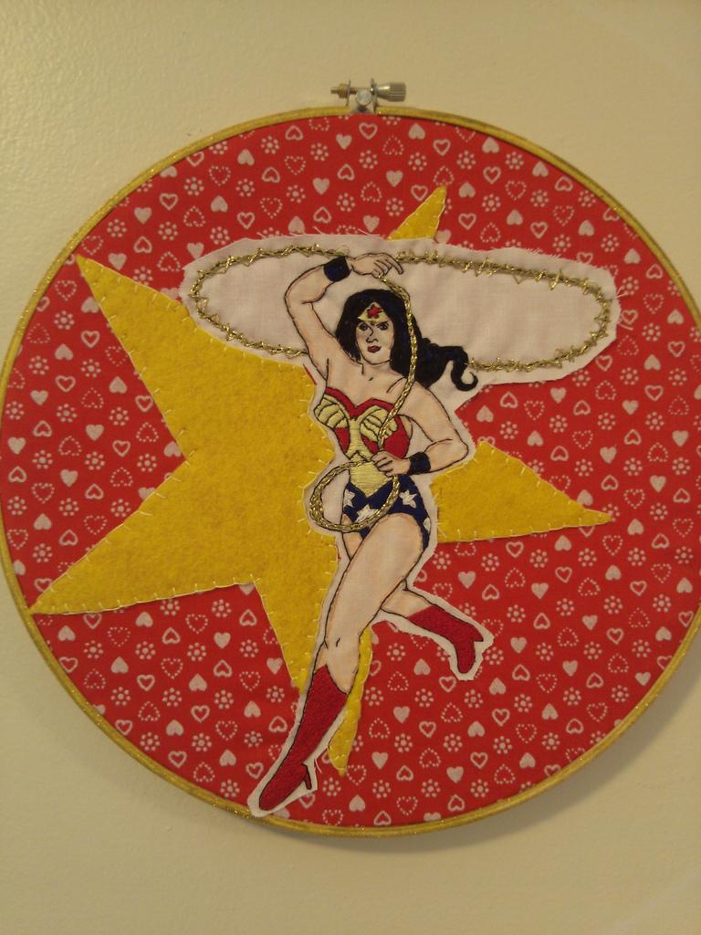 Stitchgasm – Stop Drop Roll's Wonder Woman Applique
