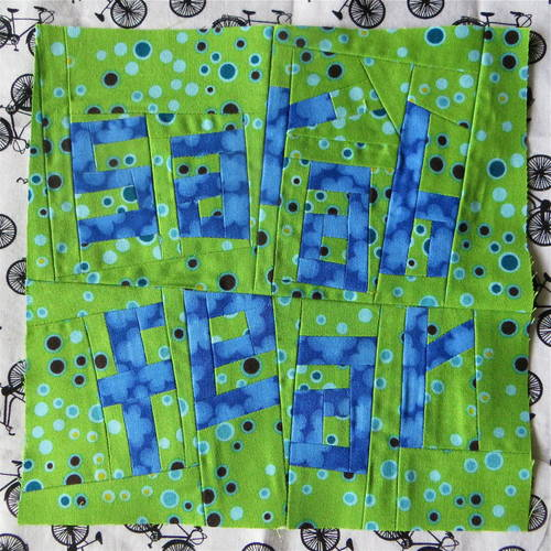 Wise One's Sarah Fear Quilting Square
