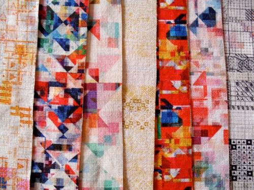 Rachel Parker Digital Craft Print fabric collection