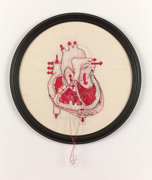 Stitchgasm! – Megan Canning's Anatomical Heart