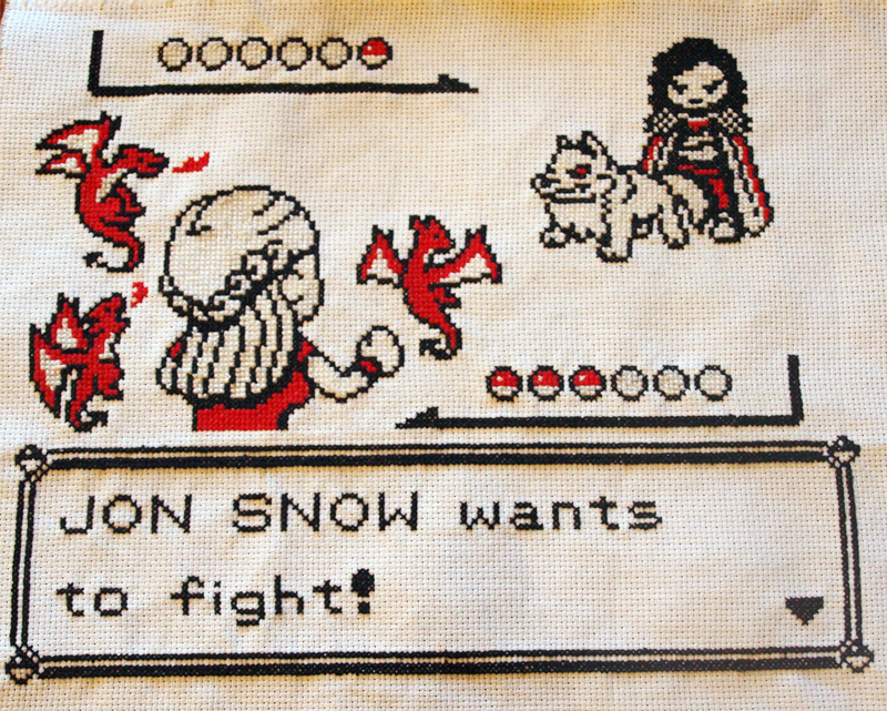 Craftster Pick of the Week – Game of Thrones Pokemon Mashup