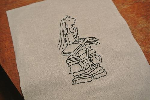 Broadwaith's Matilda Hand Embroidery